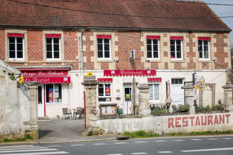 le restaurant de Heilles dans l'oise, bistrot de pays